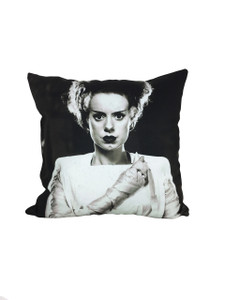 Go Rocker - Bride of Frankenstein Throw Pillow
