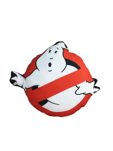 Go Rocker - Ghostbusters Logo Throw Pillow