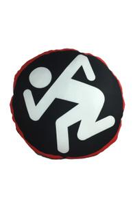 Go Rocker - D.R.I. Dancing Guy Throw Pillow