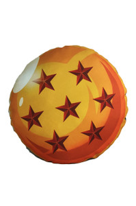 Go Rocker - Dragon Ball's 7 Star Throw Pillow