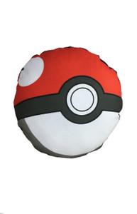 Go Rocker - Pokemon's Pokeball Throw Pillow