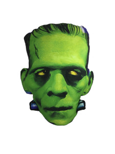 Go Rocker - Frankenstein's Head Throw Pillow