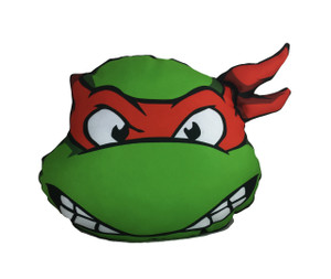 Go Rocker - TMNT's Raphael Throw Pillow