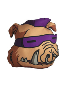Go Rocker - TMNT's Bebop Throw Pillow