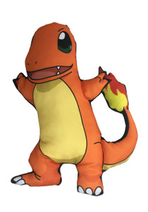 Go Rocker - Pokemon's Charmander Throw Pillow