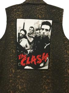 "Go Rocker - The Clash 13.5"" x 10.5"" Color Backpatch"