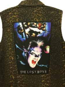 """Go Rocker - The Lost Boys 13.5"""" x 10.5"""" Color Backpatch"""