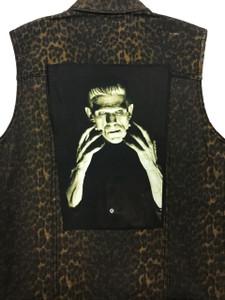"""Go Rocker - Frankenstein 13.5"""" x 10.5"""" Color Backpatch"""