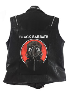 "Go Rocker - Black Sabbath 13.5"" x 10.5"" Color Backpatch"