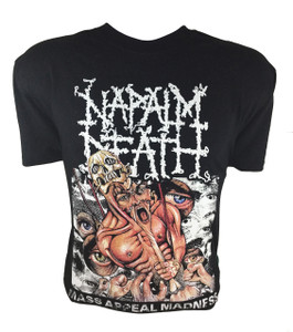 Napalm Death - Mass Appeal Madness T-Shirt