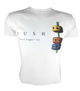 Rush - Different Stages White T-Shirt
