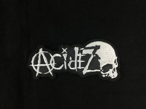 "Acidez 4x2"" Embroidered Patch"