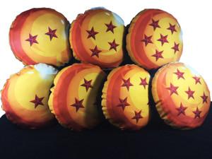 Go Rocker - Dragon Ball Z's 7 Dragon Balls Throw Pillow Pack