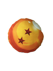 Go Rocker - Dragon Ball's 2 Star Throw Pillow