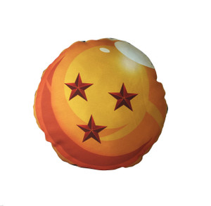 Go Rocker - Dragon Ball's 3 Star Throw Pillow