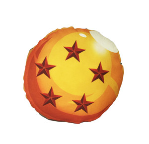 Go Rocker - Dragon Ball's 5 Star Throw Pillow