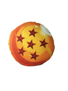 Go Rocker - Dragon Ball's 6 Star Throw Pillow