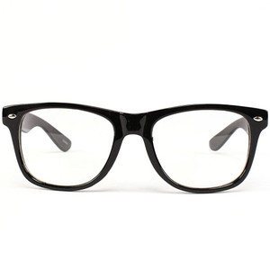 Classic Black Wayfarer Unisex Eye Glasses