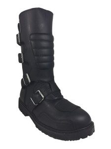 Road Warrior - Goose 4-Strap Harness Boots