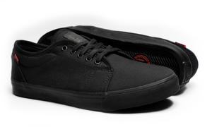 Casta Propaganda - Gorbachov Black Canvas Unisex Sneaker