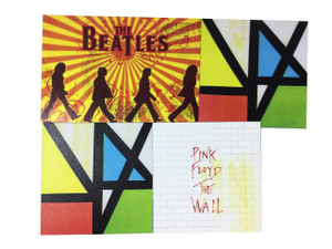4 Piece Patch Lot New Order, Beatles + More!