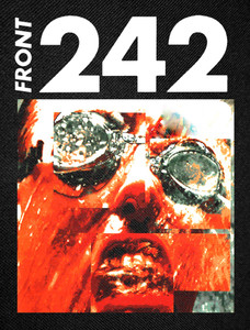 "Front 242 - Face 11""x16"" Color Backpatch"