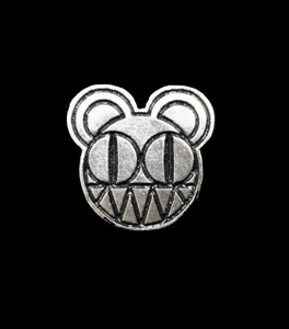 "Radiohead 2"" Metal Badge Pin"