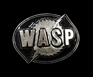 W.A.S.P. Metal belt buckle