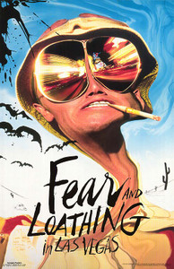 "Fear and Loathing in Las Vegas 24x36"" Movie Poster"