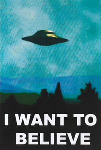 "X-Files - I Want To Believe 24x36"" Poster"