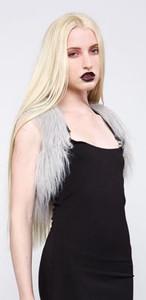 Lip Service - Black Ice Grey Vest