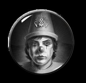 """Lacrimosa - Harlequin 1"""" Pin"""