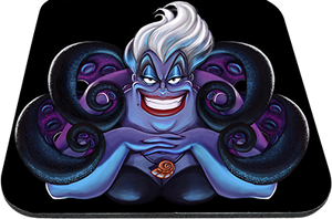 "Ursula The Sea Witch 9x7"" Mousepad"