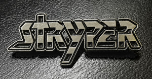 "Stryper 2.25 x 1"" Metal Badge Pin"