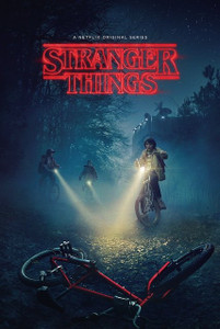 "Stranger Things - Bikes 24x36"" Poster"