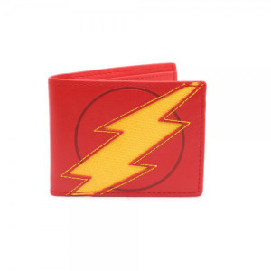 DC Comics Flash PU Lightening Reveal Bi-Fold