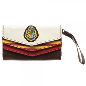 Harry Potter 3 Fold Envelope Wallet with Wristlet
