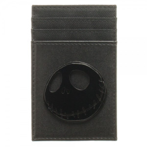 Nightmare Before Christmas Badge Front Pocket Wallet