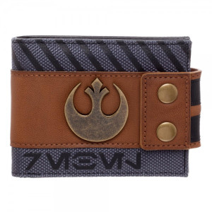Rogue One Rebel Snap Bi-Fold Wallet