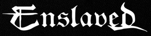 "Enslaved - Logo 7x3"" Printed Patch"