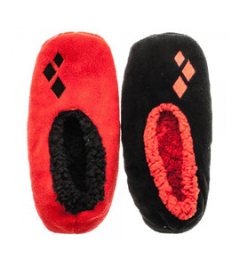 DC Comics Harley Quinn Cozy Slipper Socks