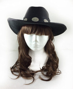 Cowboy Style Hat in Black