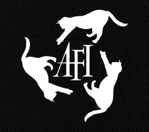 "AFI - Cats 5.75x6"" Printed Patch"