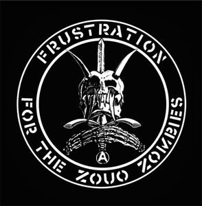 "Frustration for the Zouo Zombies 4x4"" Printed Patch"