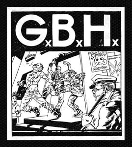 """G.B.H. - Bar 4.5x5.5"""" Printed Patch"""