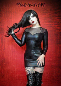 Dr. Frankenstein - Fetish Rivet Dress