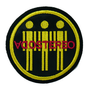 "Soda Stereo - Men 3x3"" Embroidered Patch"