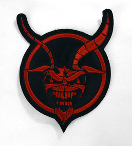 "Iron Maiden - Demon Eddie 3.5x4.5"" Embroidered Patch"