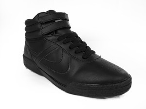 Panam - Hi Top Black Womens Sneaker
