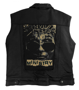 """Go Rocker - Ministry13.5"""" x 10.5"""" Color Backpatch"""